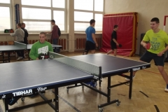 Dęblin - turniej tenisa stołowego 13.02.2014