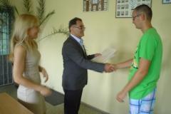 Ukończenie szkoły przez III klasy ZSZ - 13.06.2014