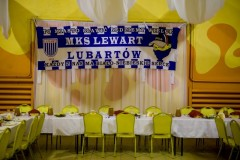 Wigilia w klubie sportowym Lewart Lubartów