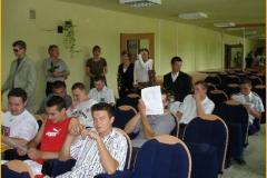 Zakończenie roku szkolnego klasy III M - 13.06.2008