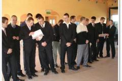 Zakończenie roku szkolnego klasy IV - czerwiec 2008